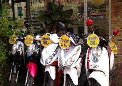 AT Center Guesthouse & Motorbike Pattaya