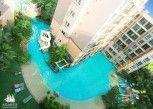 Pesan Kamar Suite Keluarga, 1 Kamar Tidur, Dapur Kecil, Pemandangan Kolam Renang di Atlantis Condo and Water Park Pattaya by the Sea