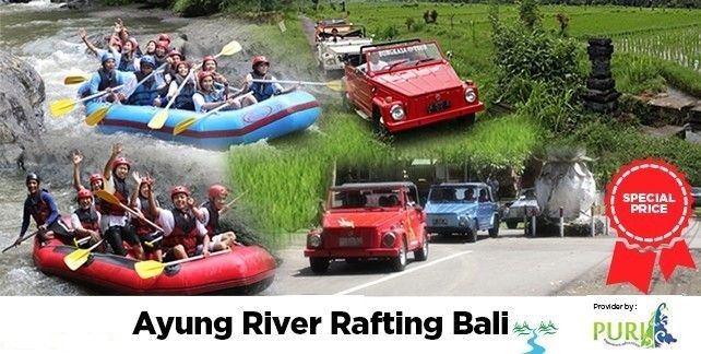 Ayung River Rafting Packages Bali