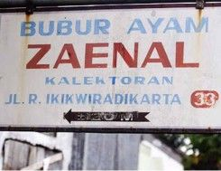 Bubur Ayam H. Zaenal