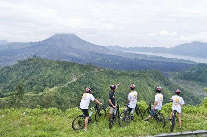 harga tiket Bali Mountain Cycling and Lunch with the Elephants (C)