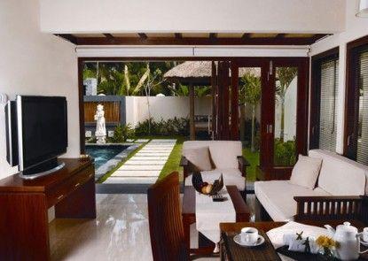 Bali Baliku Beach Front Luxury Private Pool Villas Ruang Tamu
