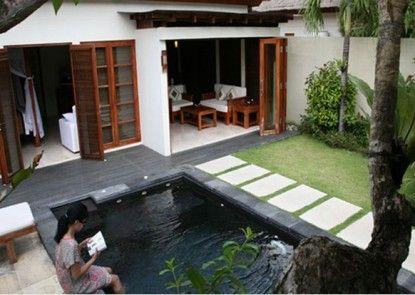 Bali Baliku Beach Front Luxury Private Pool Villas Teras