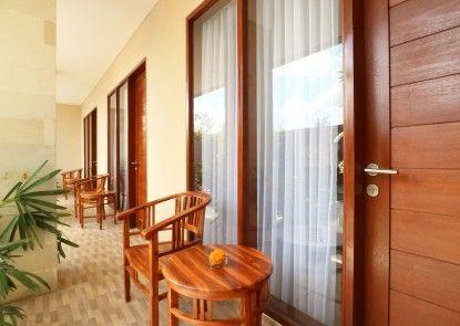 Bali Shanti Guest House Teras