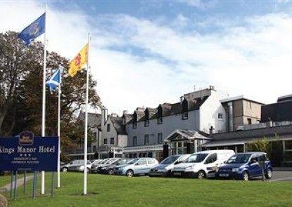Best Western Kings Manor Hotel Teras