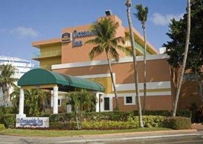 Best Western Plus Oceanside Inn Teras