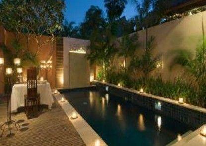 Bhavana Private Villas Kolam Renang Pribadi