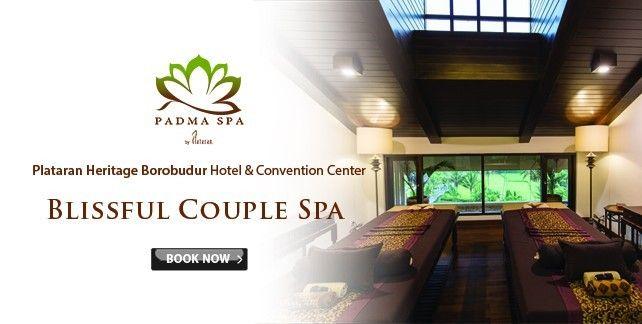 Blissful Couple Spa at Padma Spa Plataran Heritage Borobudur