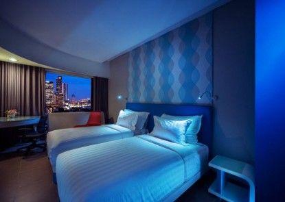 Blue Sky Hotel Petamburan  Kamar Tamu