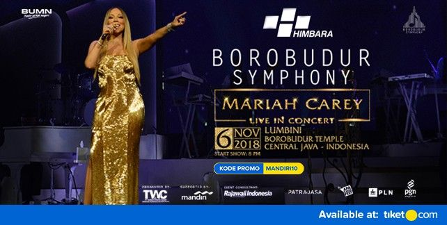 Borobudur Symphony Mariah Carey Live in Concert 2018 Promo Mandiri
