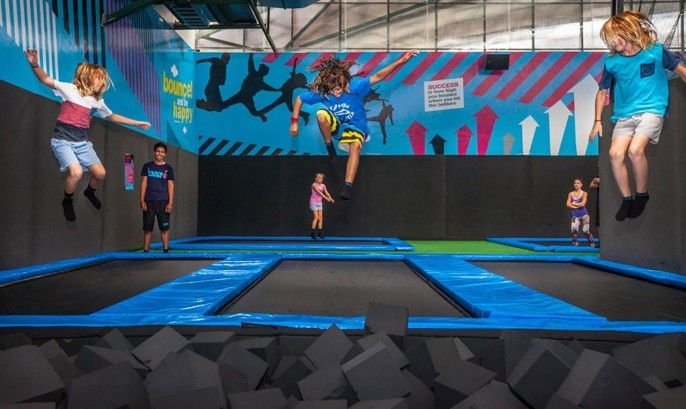 harga tiket Bounce Trampoline Centre Admission Ticket