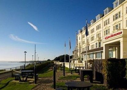 Bournemouth Highcliff Marriott Hotel Teras