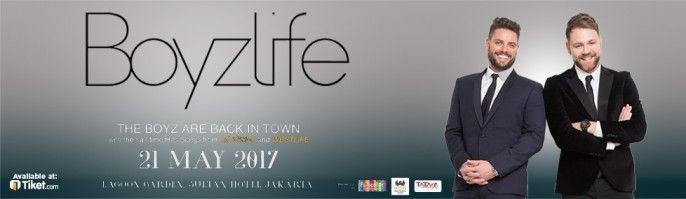 harga tiket Boyzlife Live Concert In Jakarta 2017
