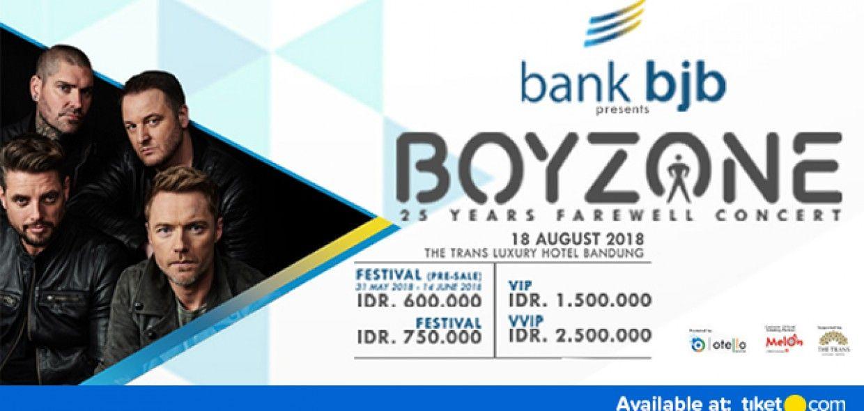 Boyzone 25 Years Farewell Concert - Live In Bandung 2018