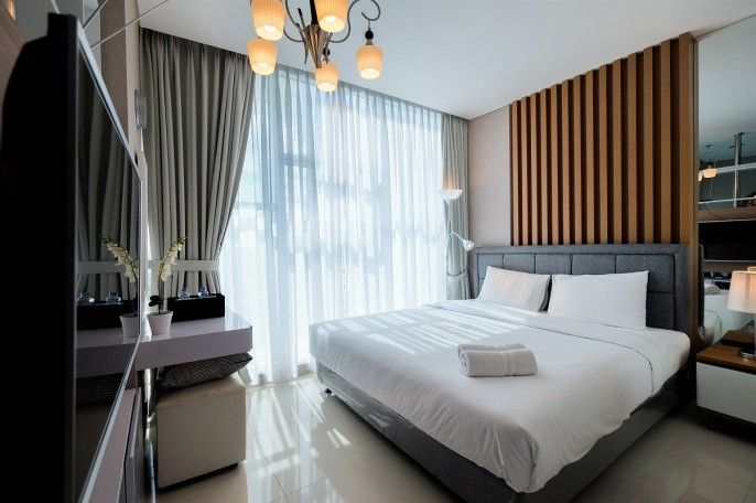 Brooklyn Alam Sutera Studio Apartment with Sofa Bed By Travelio, Tangerang