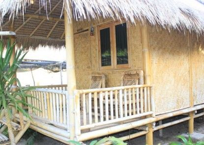 Bumbangku Beach Cottages Teras