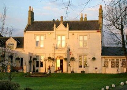 Burnhouse Manor Hotel Teras