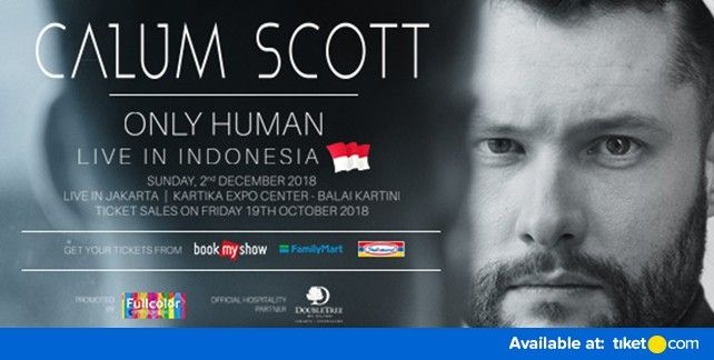 Calum Scott : Only Human Live In Indonesia 2018