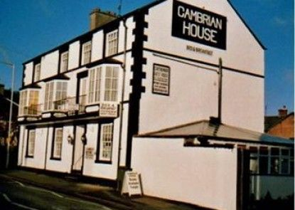 Cambrian Guest House Teras