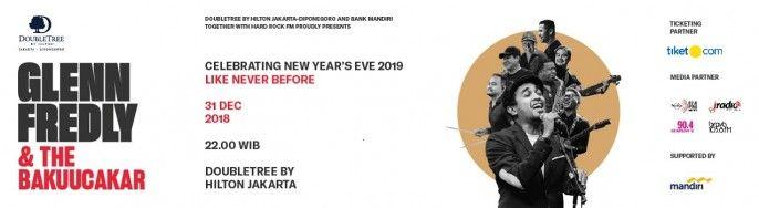Celebrating New Year's Eve 2019 Like Never Before with GLENN FREDLY & BAKUUCAKAR