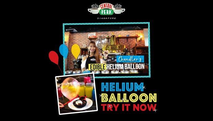 harga tiket Central Perk: Edible Helium Balloon Experience