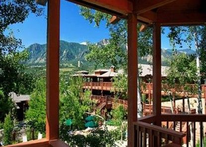 Cheyenne Mountain Resort Teras