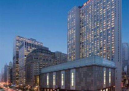 Chicago Marriott Downtown Magnificent Mile Teras