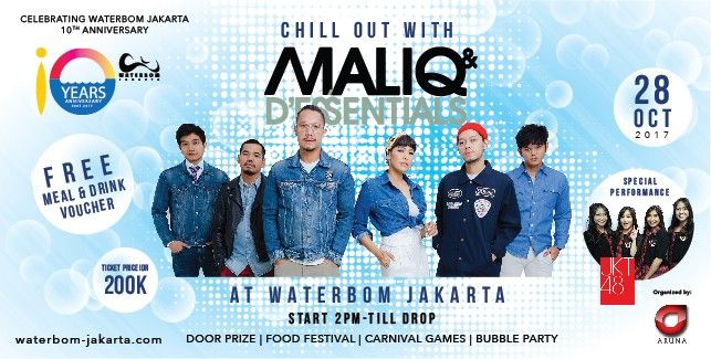 Chill Out With Maliq and D'Essentials 2017