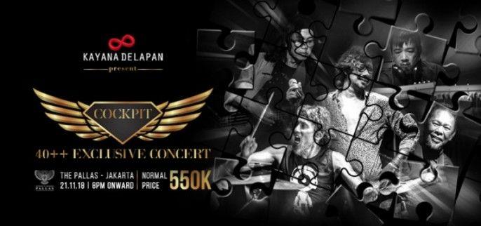 Cockpit 40++ Exclusive Concert 2018
