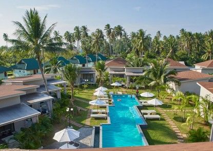 Coconutspalm resort Teras