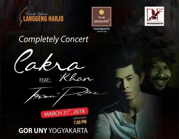 Completely Concert Cakra Khan Feat Trimni Putra 2018