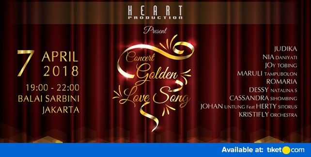 Concert Golden Love Song 2018