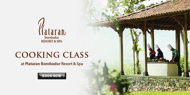 Cooking Class at Plataran Borobudur Resort & Spa