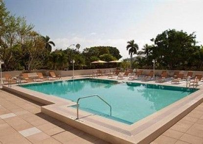 Courtyard by Marriott Miami Coconut Grove Teras