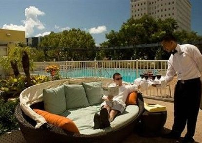 Courtyard Miami in Coral Gables by Marriott Teras