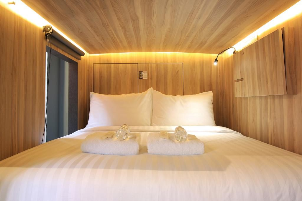 CUBE Boutique Capsule Hotel Chinatown, Outram
