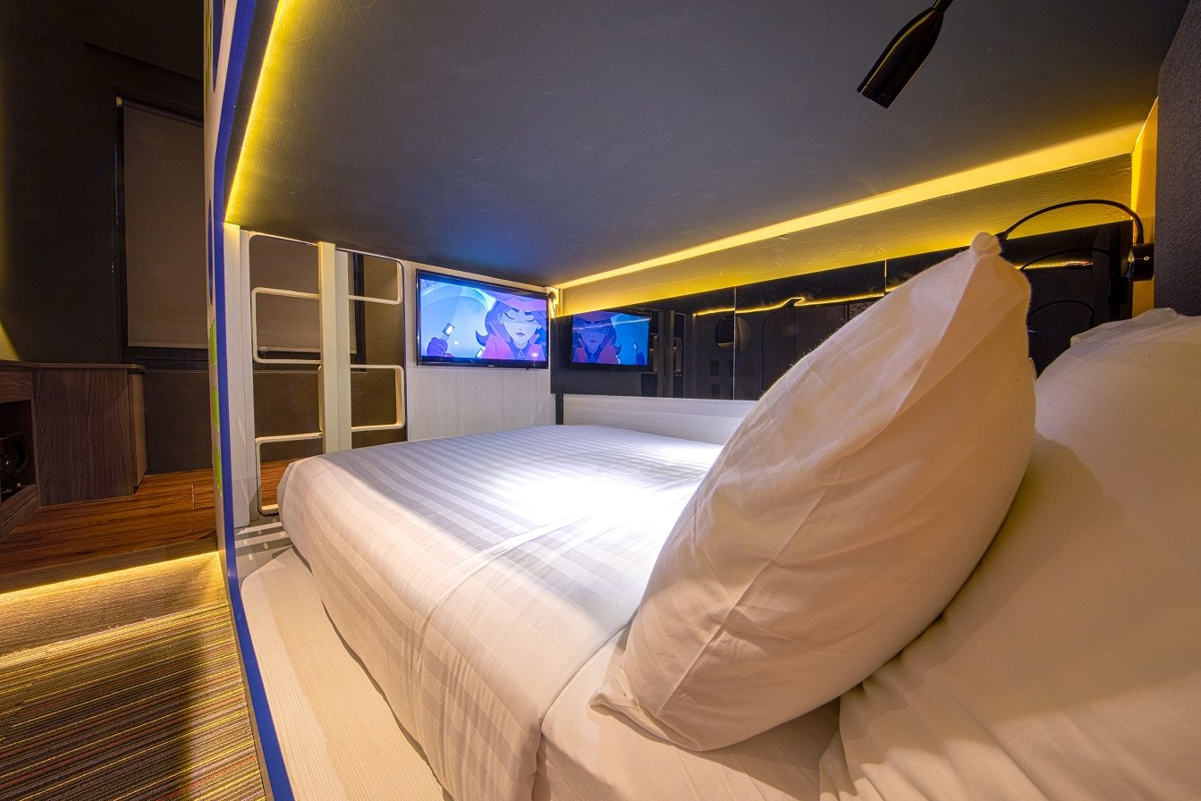 CUBE Family Boutique Capsule Hotel Chinatown, Outram