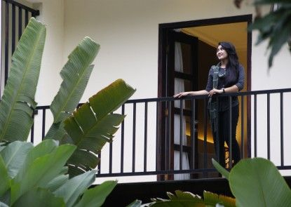 d\'Green Kayon Airport Hotel Solo Teras