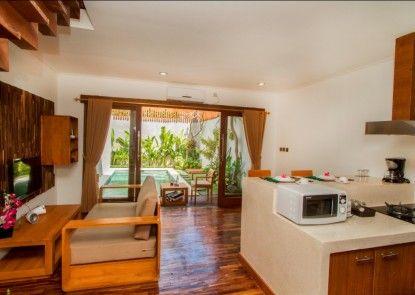 Delu Villas & Suites Ruang Tamu