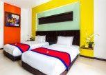 Pesan Kamar Deluxe Twin Pool View with Breakfast di Ozz Hotel Kuta Bali