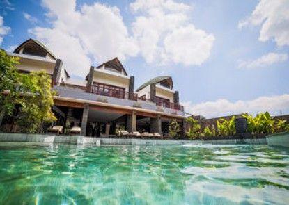 De Moksha Boutique Resort Teras