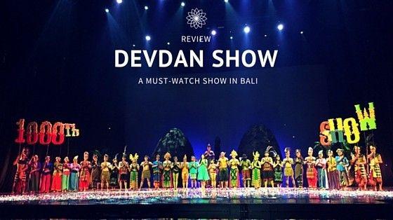Devdan Show Bali PROMO HOLIDAY SCHOOL 2018