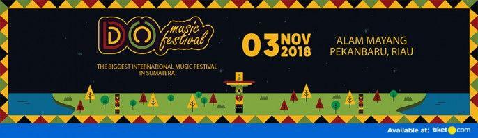 harga tiket DO Music Festival 2018