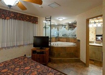 Douglas Fir Resort and Chalets Teras