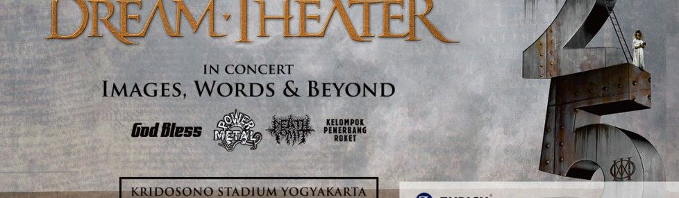 Dream Theater JOGJAROCKARTA 2017