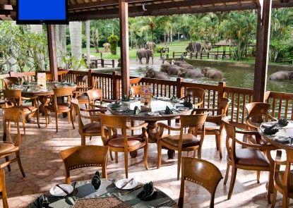Elephant Safari Park Lodge Hotel Rumah Makan