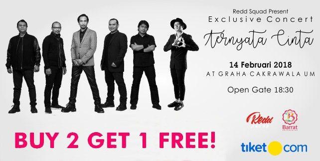 harga tiket Exclusive Concert - TERNYATA CINTA PADI & ANJI 2018 Malang