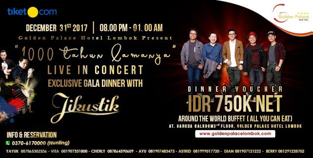 EXCLUSIVE GALA DINNER WITH JIKUSTIK