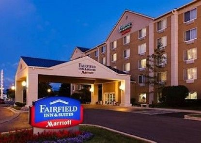 Fairfield Inn and Suites by Marriott Chicago Midway Airport Teras