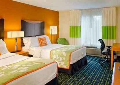 Fairfield Inn by Marriott Battle Creek Teras